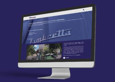 Site Web Atelier Casa Lambretta