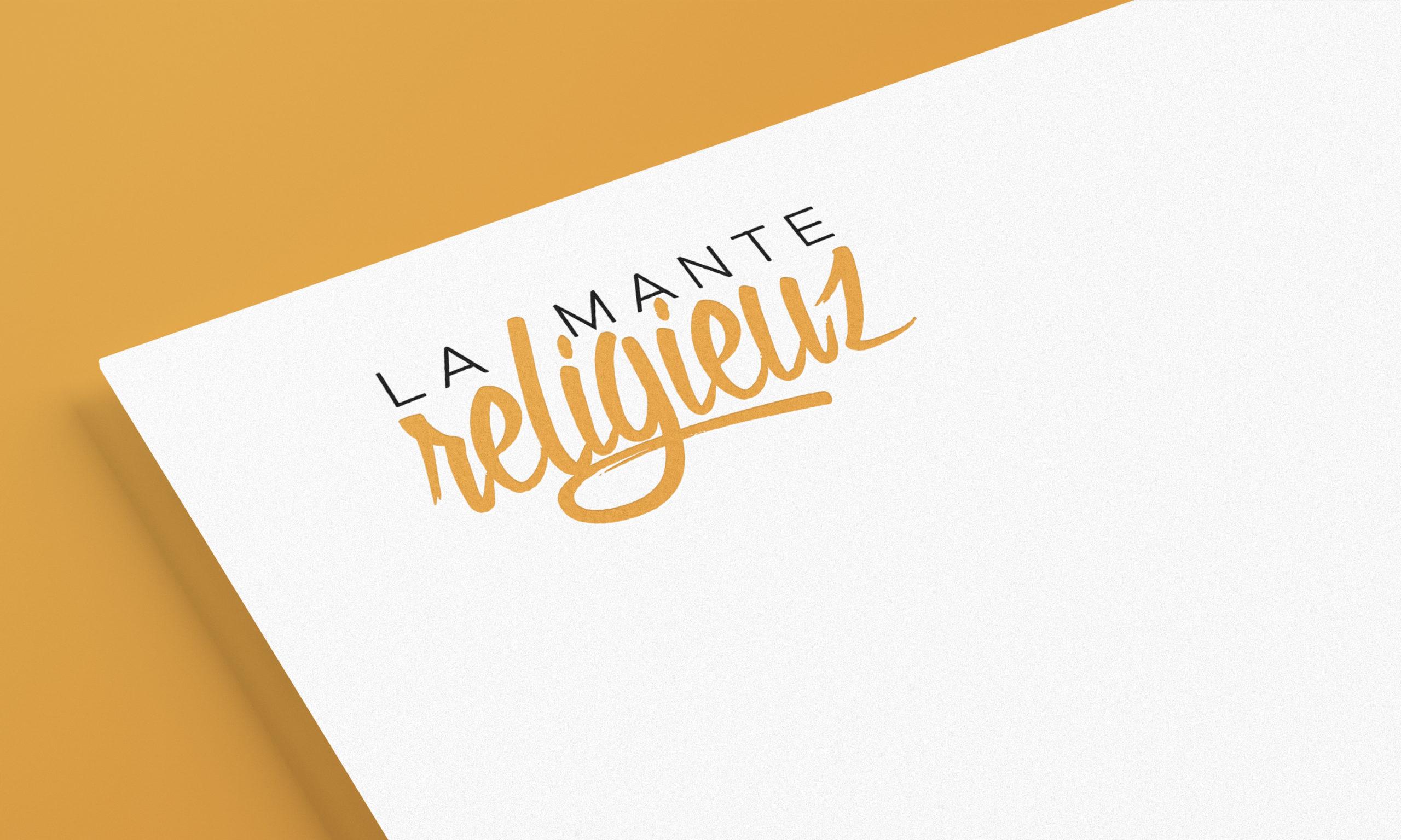 Logotype LaManteReligieuz, association rap et musique d'Annecy