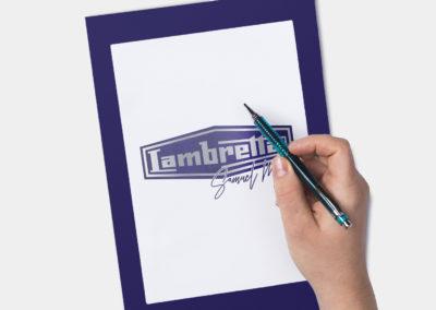 Design Blason Lambretta