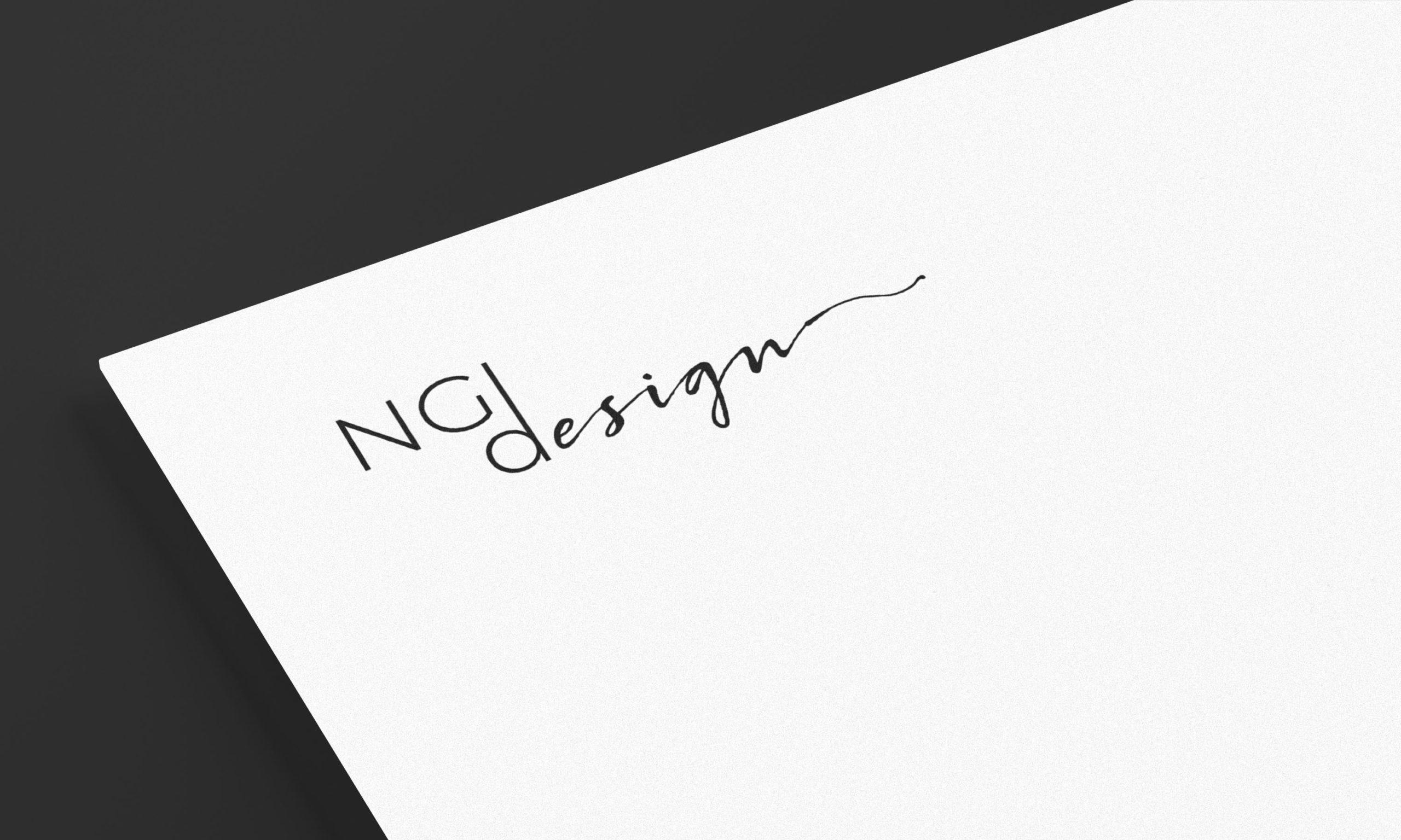 Logotype NGDesign, graphiste et concepteur web