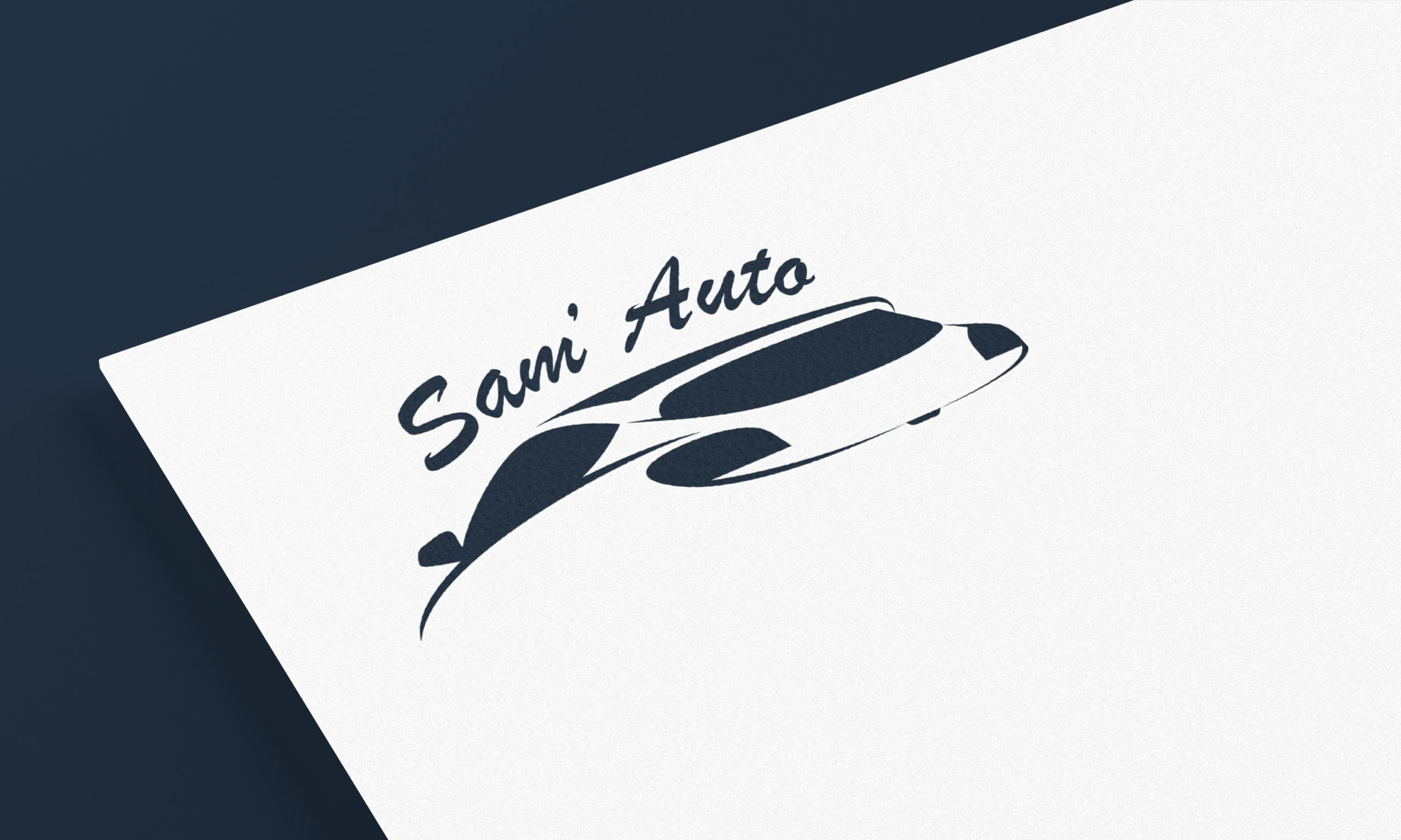 Logotype Sam Auto, garage multi-marques en Savoie