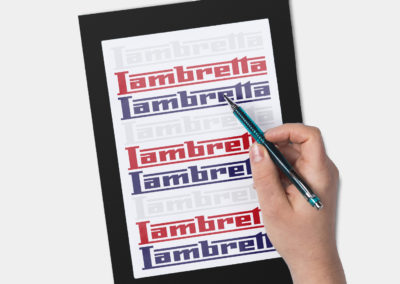 Design Logo Lambretta