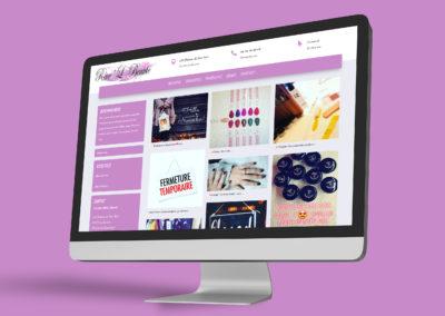 Site web Rêve'L Beauté