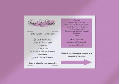 Pancarte Rêve'L Beauté