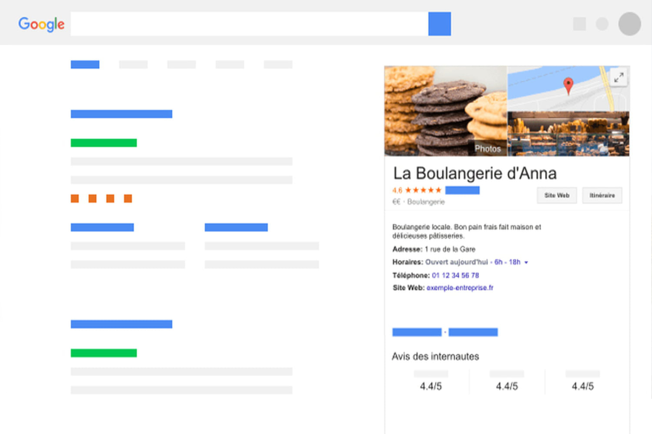 Page Google My Business. NGDesign, agence de communication à Chambéry